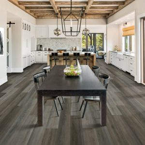 Dining table with kitchen view   Floor Dimensions