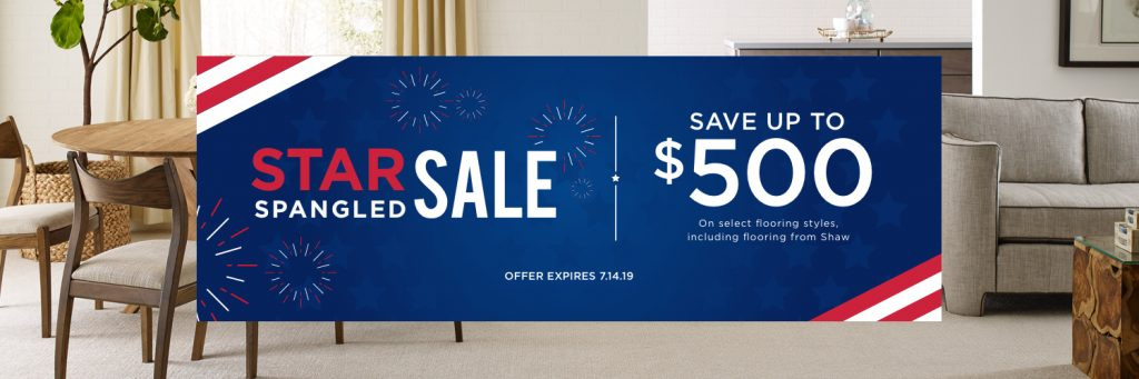 Star spangled sale banner | Floor Dimensions