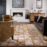 Area Rug in living room | Floor Dimensions