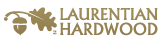 Laurentian Hardwood logo | Floor Dimensions