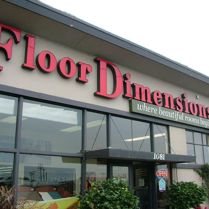 Floor dimensions showroom in Albany CA | Floor Dimensions