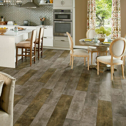 Homespun Harmony Luxury Vinyl Tile | Floor Dimensions
