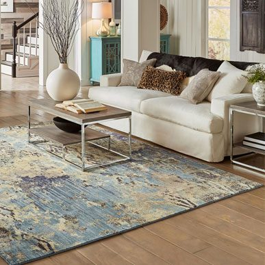 Area rug for living room | Floor Dimensions