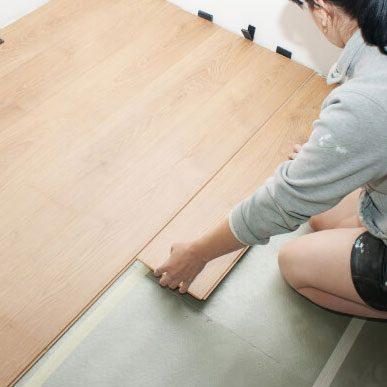 Laminate installation | Floor Dimensions