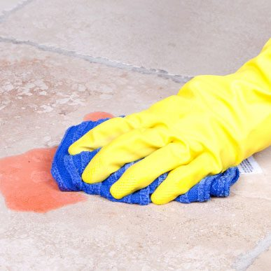 Tile Stain cleaing | Floor Dimensions